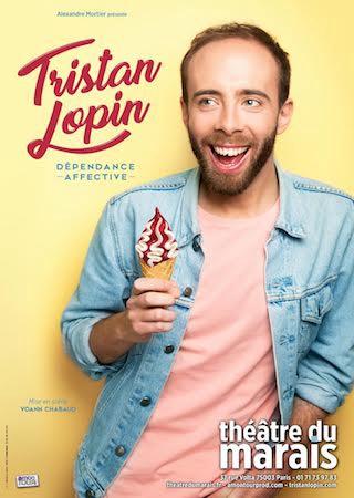 Le spectacle Dépendance affective de Tristan Lopin