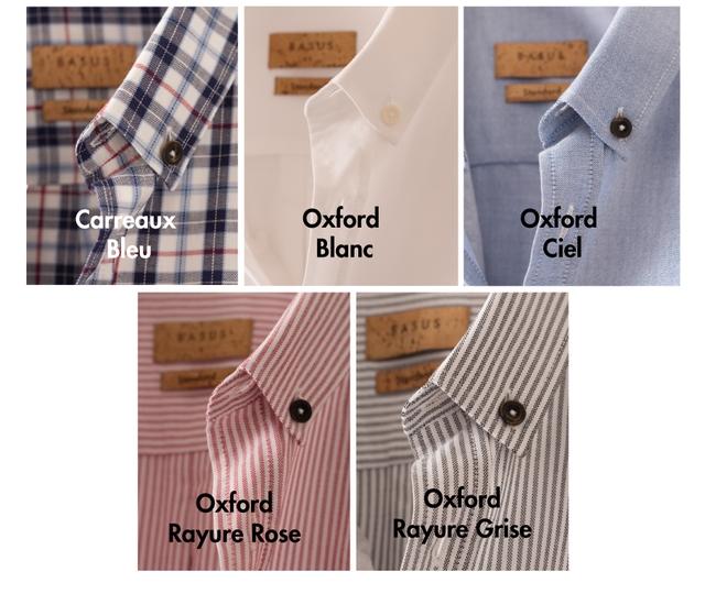 Carreaux Oxford Oxford Bleu Blanc Ciel Oxford Oxford Rayure Rose Rayure Grise