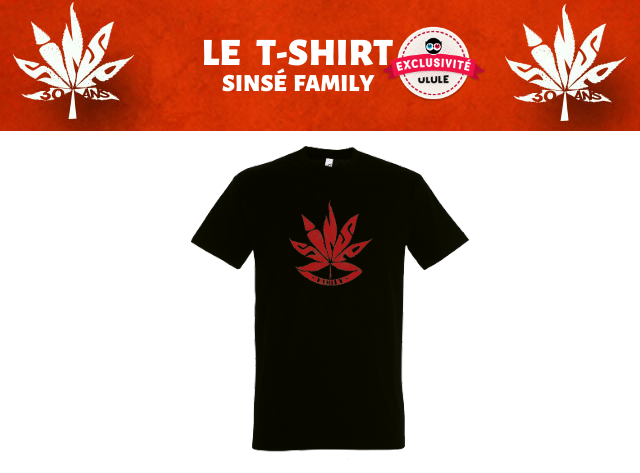 LE T-SHIRT EXCLUSIVITE SINSE FAMILY ULULE 30 ANS 30 ANS