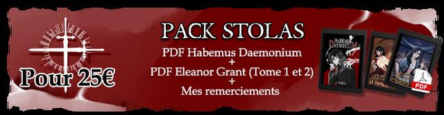 PACK STOLAS PDF Habemus Daemonium Pour 25€ PDF Eleanor Grant (Tome 1 et 2) + Mes remerciements