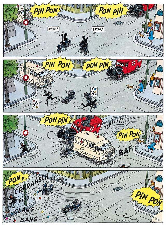 PiN PoN PoN STOP! PiN PoN PON PONpin PiN PON CLANG BANG