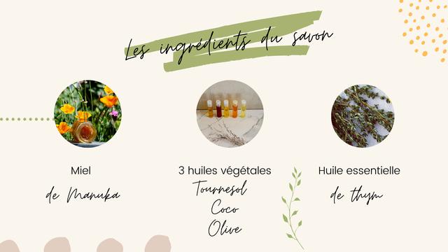 Mie 3 huiles vegetales Huile essentielle Tournesol e thym live