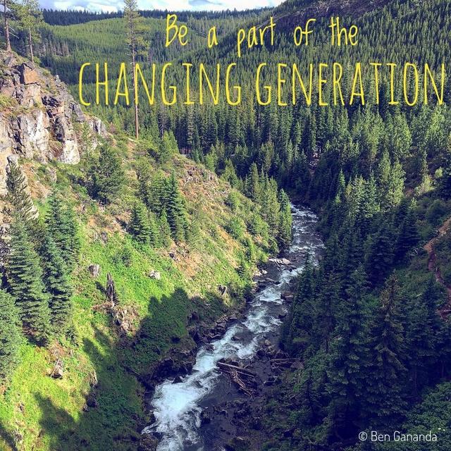Be par of the CHANGING GENERATIO C Ben Gananda