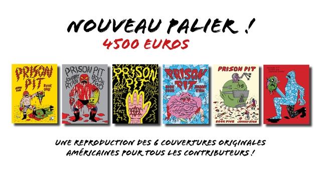 NOUVEAU PALIER 4500 EUROS PRISSON POT JOHNNY ONE FOVE JOWNNYA RYAN UNE REPRODUETION 6 COUVERTURES ORIGINALES AMERICAINES POUR TOUS LES CONTRBUTEURS
