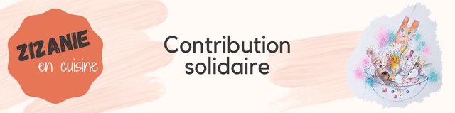 Contribution en cuisine solidaire