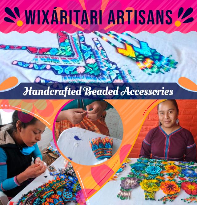 WIXARITAR ARTISANS HandcraftedI Beaded Accessories
