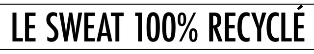 LESWEAT 100% RECYCLE