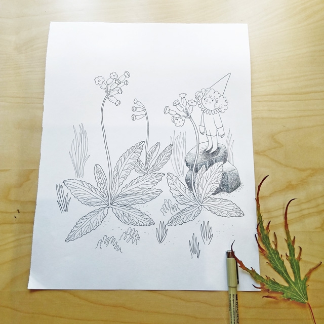 [promo] Herbarium magicae, les sorcières botaniques | Artbook en crowdfunding 1c1f958d1a28cd2eac618786577cd407