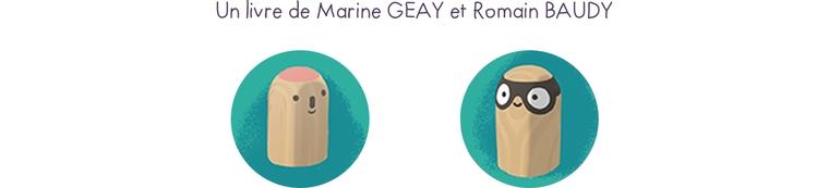 Un livre de Marine GEAY et Romain BAUDY