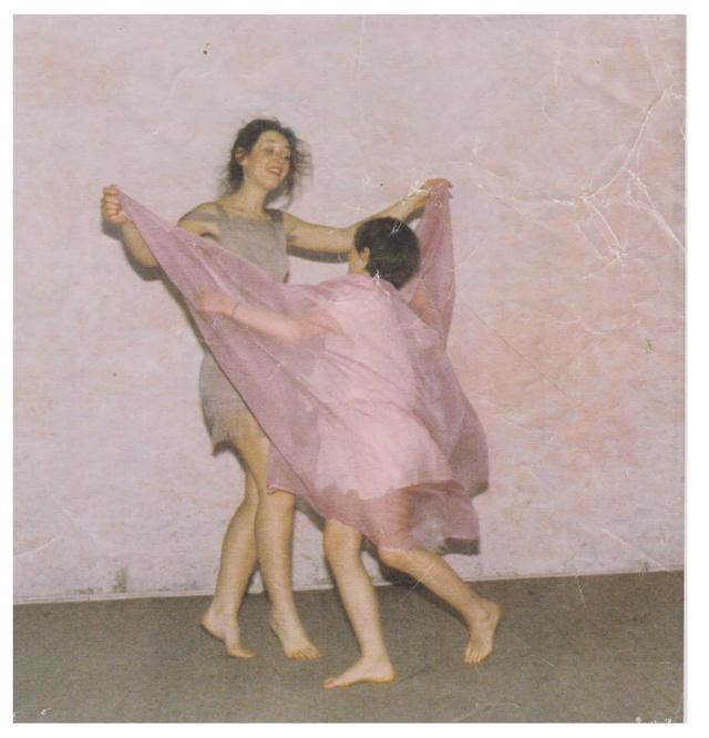 Agnès à la danse, à 46 ans