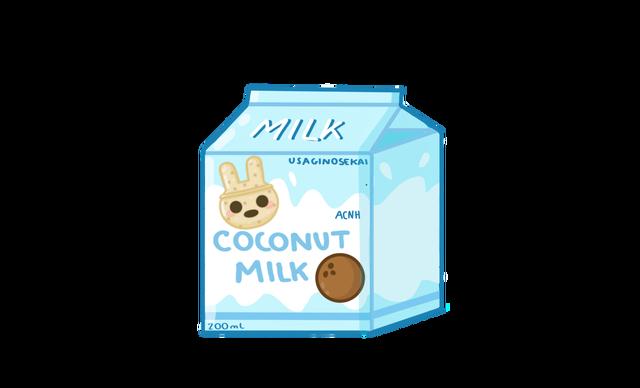 USAGINOSEKAI ACNH COCONUT MILK