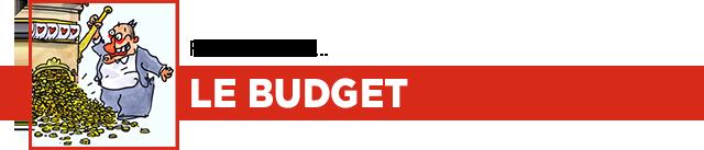Financement, le budget