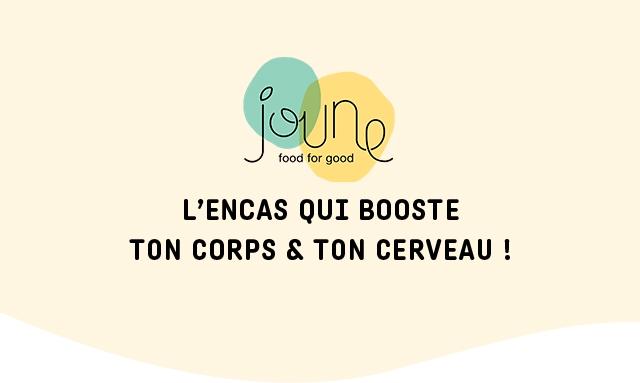 food for good L'ENCAS QUI BOOSTE TON CORPS & TON CERVEAU