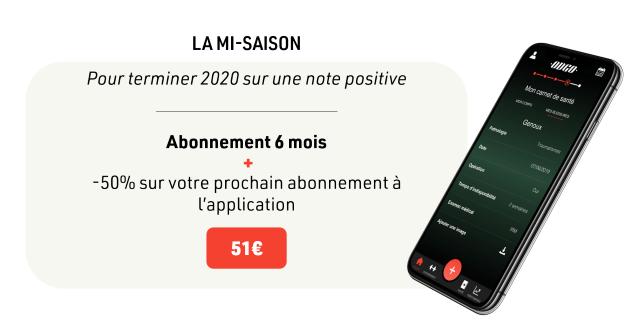 LAMI-SAISON Pour terminer 2020 sur une note positive Abonnement 6 mois -50% sur votre prochain abonnement a l'application 510