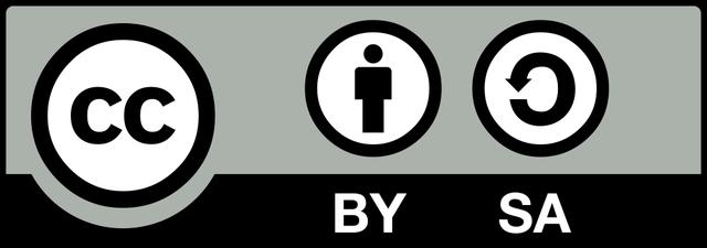 Logo CC-BY-SA