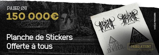 150 000 Planche de Stickers Offerte a tous PALIER ATTEINT
