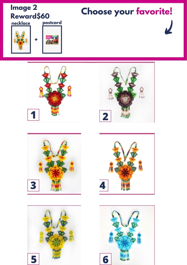 Image 2 Reward $60 Choose your favorite! necklace postcard + 1 2 3 4 5 6
