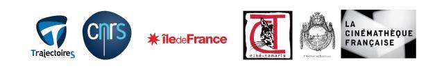 Trajectoires ; CNRS ; Région Île de France ; Ciné-Tamaris ; Château de Neuville ; Cinémathèque Française