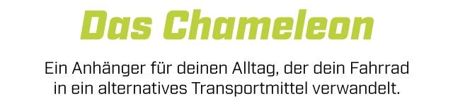 Das Chameleon Ein Anhanger fur deinen Alltag, der dein Fahrrad in ein alternatives Transportmittel verwandelt.