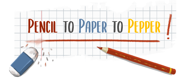 Titre : Pencil To Paper to Pepper