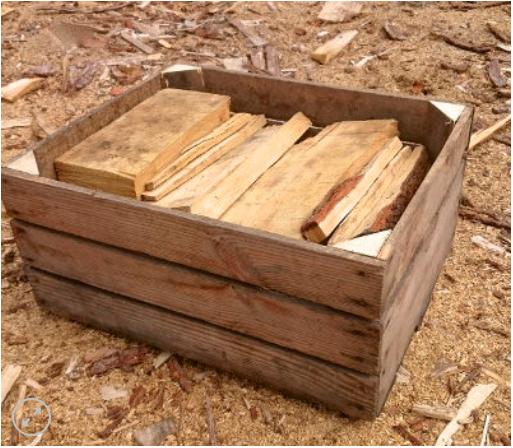 la boite à bois, du bois de chauffage solidaire