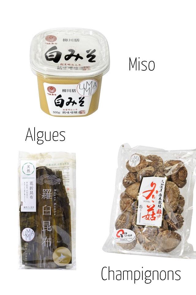 Miso 2 500e Algues Champignons