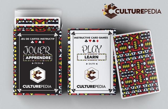 CULTUREPEDIA JEU DE CARTES INSTRUCTIF INSTRUCTIVE CARD GAMES JOUER pLaY APPRENDRE LEARN FR/EN EN/FR CULTUREPEDIA CULTUREPEDIA