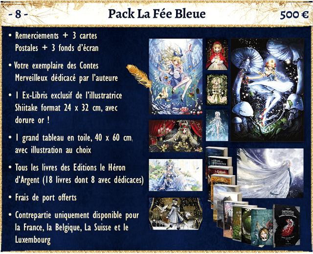pack fee bleue  - shiitake - crowdfunding ulule