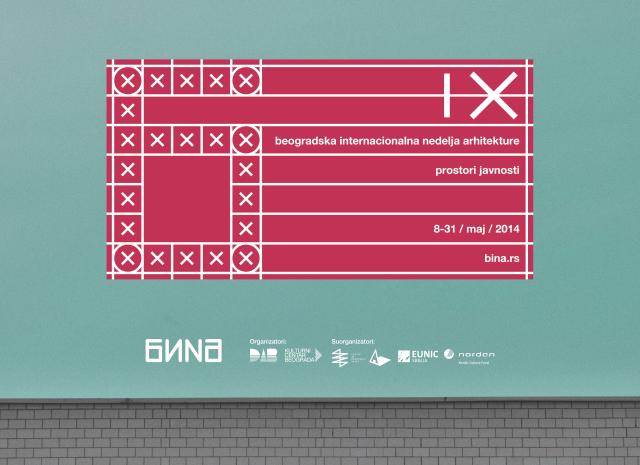 9th Belgrade International Architecture Week - BINA 2014 cover