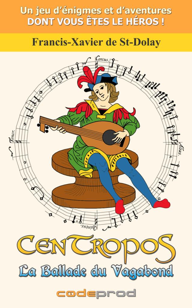 Couverture du livre numérique - CenTropoS : La Ballade du Vagabond