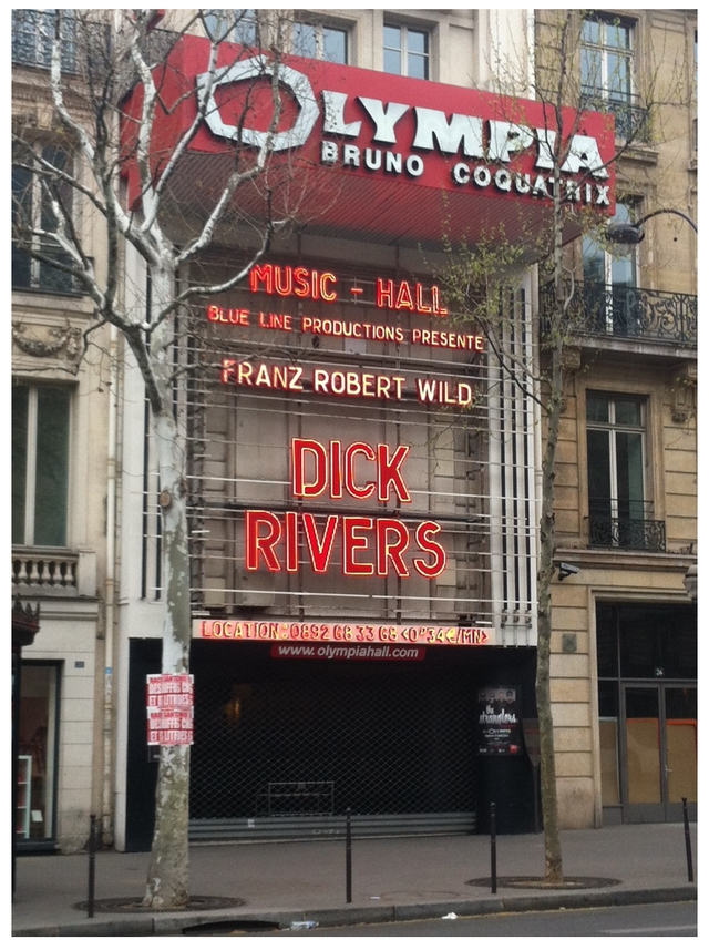COQUATRIX MUSIC HALL BLUE LINE PRODUCTIONS PRESENTE FRANZ ROBERT WILD DICK RIVERS