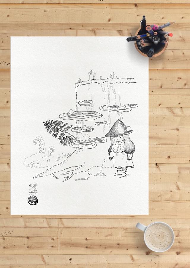 [promo] Herbarium magicae, les sorcières botaniques | Artbook en crowdfunding 406c40bf557ac39064e89a10c73dd2f0