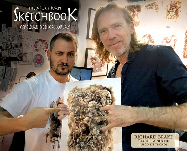 THEART OF JUAPI KETCHBOO K ESPECIAL DEDICATORAS RICHARD BRAKE REY DE LA NOCHE JUEGO DE TRONOS