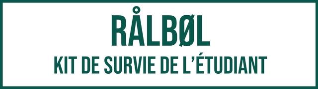 RALBOL KIT DE SURVIE DEL'ETUDIANT