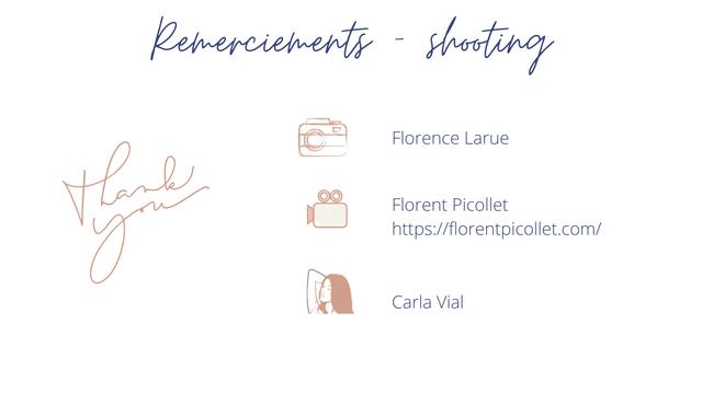 - Florence Larue Florent Picollet Carla Vial
