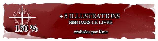 + 5 ILLUSTRATIONS N&B DANS LE LIVRE 150 % realisees par Kme