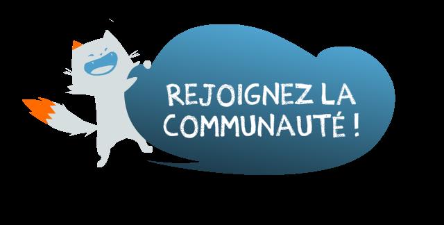 Rejoignez la communauté !
