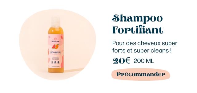 Shampoo Fortiliant Pour des cheveux super forts et super cleans 20E 200 ML PpeGommander