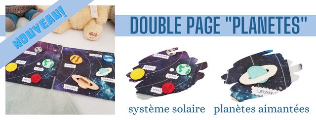 DOUBLE PAGE PLANETES JUPITER systeme solaire planetes aimantees