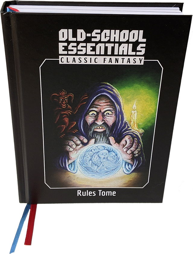 OLD-SCHOOL ESSEATIALS CLASSIC FANTASY Rules Tome