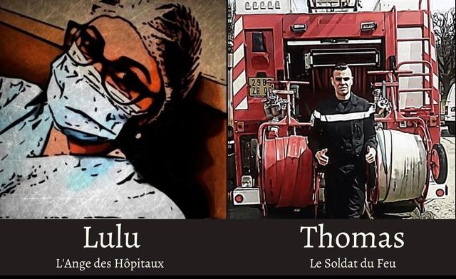 Lulu Thomas L'Ange des Hopitaux Le Soldat du Feu