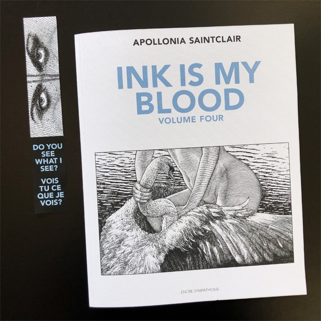 APOLLONIA SAINTCLAIR INK INKIS M SMY BLOOD VOLUME FOUR ENCRE CYMPATHIOUE