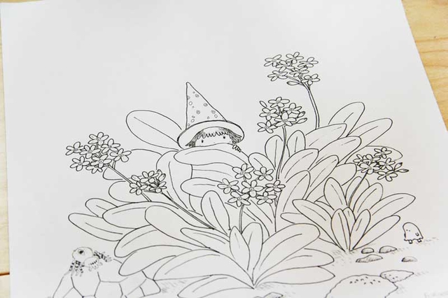 [promo] Herbarium magicae, les sorcières botaniques | Artbook en crowdfunding 57e836af00db90c9f6594dd2144c6322