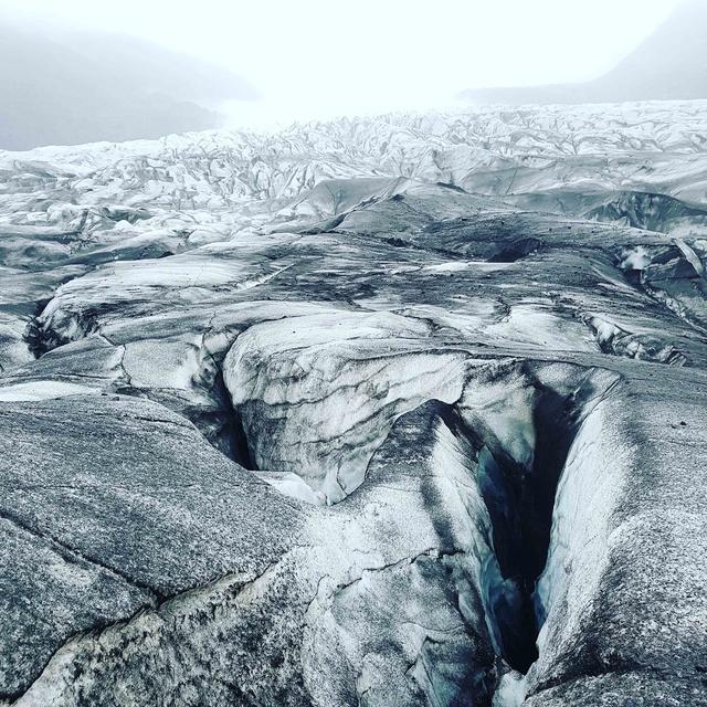 Glacier Svínafellsjökull, alpinisme exploration, aventure photographique