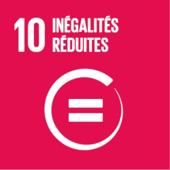 Object de développement durable de l'ONU numéro10 : inégalités réduites