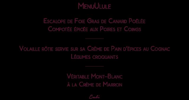 MenUlule Cali - Kit de kiff à cuisiner - spécialités lyonnaises en kit à cuisiner