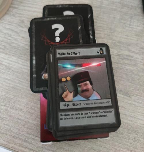 Visite de Gilbert Piege Gilbert 2 Chaisisser carte Forumeur Telastin' tarrain carte kick immidiatament