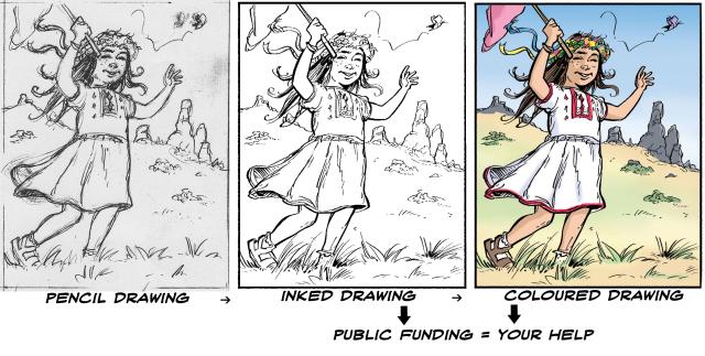 Amateur comic artists
