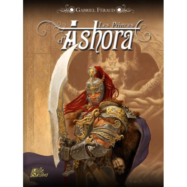 Couverture des Princes d'Ashora