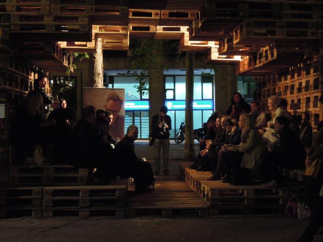 BINA KABINA 2012, Belgrade - opening